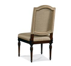 Hickory White Upholstered Side Chair 301-64