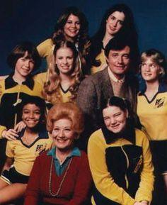 "The Facts of Life - Season 1 cast:  L to R from bottom: Dorothy ""Tootie"" Ramsey (Kim Fields); Edna Garrett (Charlotte Rae);  Natalie Green (Mindy Cohn); Molly Ringwald (Molly); Julie Piekarski (Sue Ann); Mr. Stephen Bradley (John Lawlor); Julie Anne Haddock (Cindy); Blair Warner (Lisa Whelchel); and Felice Schachter (Nancy)"