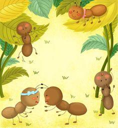 children book , ant