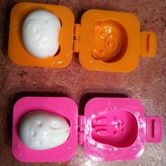 Hard boiled egg press for bento lunches! So fun!!