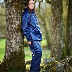 Vinyl Raincoat, Blue Raincoat, Rain Gear, Packable Jacket, Playsuit, Rain Jacket, Women Wear, Ruffle Blouse, Pullover
