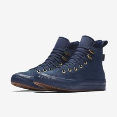 Converse Chuck Taylor All Star Waterproof High Top Women's Boot Converse Boots, Outfits With Converse, Converse Men, Converse Chuck, Puma Boots, Black Leather Converse, White Converse, Winter Shoes For Women, Shoes Women
