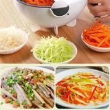 Whenever you're struggling in the kitchen, Rotate Vegetable Cutter makes you feel better. The new vegetable slicer comes with a unique drainage feature that al How To Wash Vegetables, Types Of Vegetables, Vegetable Slicer, Carrots And Potatoes, Kitchen Helper, Potato Chips, Coleslaw, Stir Fry, Vegetable Recipes
