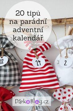 Vánoce se blíží, pojďme s dětmi odpočítávat dny do Ježíška. Mám pro vás 20 tipů na parádní adventní kalendář (prázdný i naplněný). #adventnikalendar #vanocnitipy Easy Christmas Crafts For Toddlers, Toddler Crafts, Simple Christmas, Christmas Bulbs, Christmas Decorations, Holiday Decor, Xmas, Christmas Crafts, Christmas