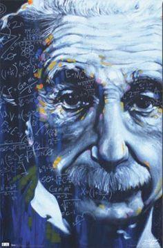 Albert Einstein Artistic Formulas Art Print Poster - 22x34 Poster Print, 22x34 by Poster Revolution, http://www.amazon.com/dp/B004EKOG98/ref=cm_sw_r_pi_dp_Q2anqb1XGV5VN