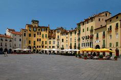 Wonderful Lucca and its walls.