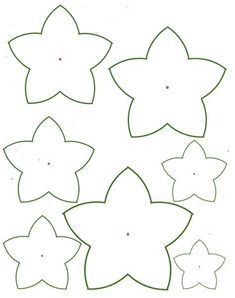 Image result for Easy Paper Flower Templates Tin Can Flowers, Rolled Paper Flowers, Paper Flowers Craft, Paper Flower Backdrop, Paper Roses, Flower Paper, Felt Flowers, Diy Flowers, Free Paper Flower Templates