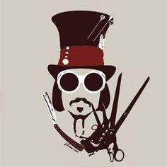Los principales personajes de Johnny Depp en una imagen.                                                                                                                                                                                 Más