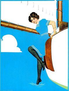 Coles Phillips Vintage Poster