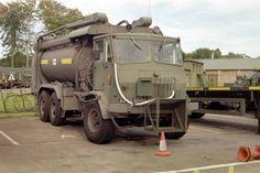 Leyland Hippo Fuel Bowser 44AD10 at RAF Leuchars  1993/4