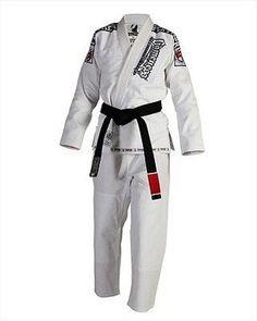 Gameness Female Feather Brazilian Jiu Jitsu Gi White uniform g1125