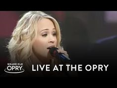 """Carrie Underwood - """"Stand By Your Man"""" - Carrie Underwood performs Tammy Wynette's classic """"Stand By Your Man"""" on the Grand Ole Opry - YouTube"""