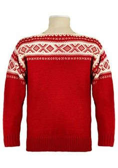 Dale of Norway - Dale Anniversary boat neck sweater Vintage Knitting, Baby Knitting, Norwegian Knitting Designs, Fair Isle Knitting, Merino Wool Sweater, Sweater Jacket, Sweater Weather, Knitwear, My Style