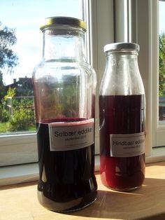 Grøntsagspigen: Æble Eddike + Hindbær & Solbær,
