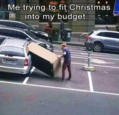 Here are the Christmas memes that are so relatable we didn't know whether to laugh or cry. Join us for another round of holiday humor! Funny Merry Christmas Memes, Christmas Humor, Christmas Stuff, Christmas Budget, Memes Humor, Funny Humor, Clean Funny Memes, Funny Stuff, Funny Shit
