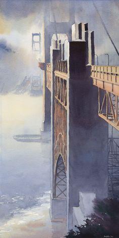 South Anchorage-Golden Gate Bridge by Michael Reardon.