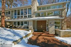 Mid Century Modern Homes For Sale In Northern Virginia Haymarket Homeowner Mid Century Modern House Modern Homes For Sale Modern House