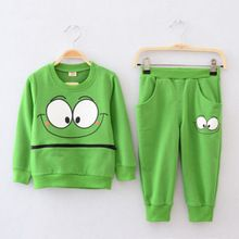 fa97eeec7 Baby Boys Girls Clothes Set Kid Casual Children Clothing Girl Boy Costume  Long Sleeve Sportswear T-Shirt Harem Pants Outfit