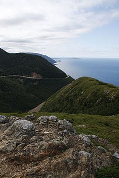 Whether you're hiking, biking or driving - the Cabot Trail on Cape Breton Island is well-worth one of your long weekends. Oh The Places You'll Go, Places To Visit, Nova Scotia Travel, Death Valley Camping, Cabot Trail, East Coast Travel, Yellowstone Camping, Canadian Travel, Cape Breton