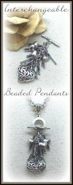 Seed Bead Necklaces — Unique Interchangeable Design – Bead Dangle Design