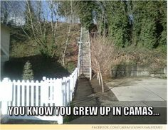 Camas city steps, i remember running these for my workout