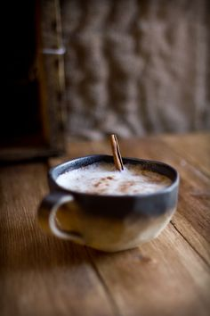 Adventures in Cooking: Black Magic - A Butternut Chai Latte recipe (scroll to bottom of page)