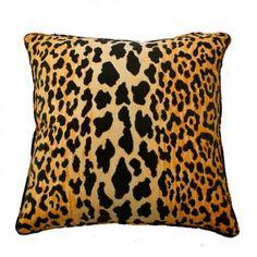 Safari Pillow, cheetah leopard print, animal print pillow