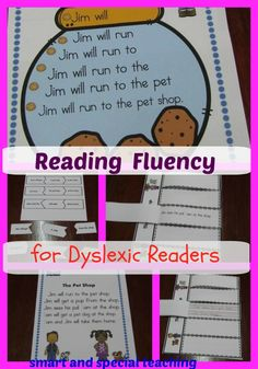 These reading fluency printables will be perfect dyslexia activities to help struggling readers with sight word visualization. Use them in your classroom or homeschool.