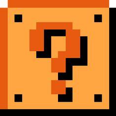 Super Mario Bros. Retro Question Block