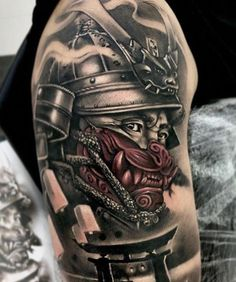 Tattoos From Around The World – Voyage Afield Japanese Tattoo Sleeve Samurai, Samurai Warrior Tattoo, Warrior Tattoos, Japanese Warrior Tattoo, Tattoo Japanese Style, Japanese Dragon Tattoos, Japanese Tattoo Designs, Leg Tattoos, Body Art Tattoos