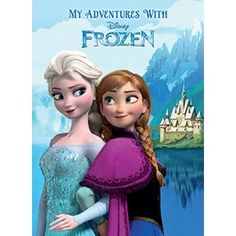 This is awesome!!! Personalised Disney Frozen Story book. Featuring your child's name along side Elsa and Anna