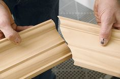 Coping Crown Molding on Inside Corners- good video turorial
