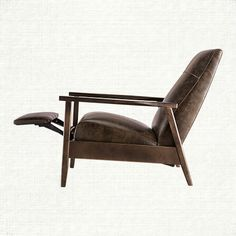 """Wordsmith Leather Recliner In Libby Fudge $1259 30"""" w x 34"""" d"""" x 40"""" h"""