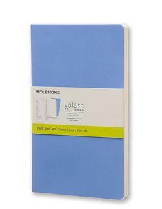Moleskine Large Volant Powder Blue/Royal Blue Plain Journal: Moleskine: Amazon.co.uk: Office Products