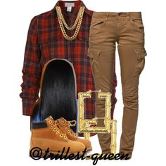 . by trillest-queen on Polyvore featuring Barneys New York, G-Star Raw and Timberland