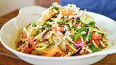 Fennel Spiced Prawns with Citrus Salad Recipe : Michael Chiarello : Food Network