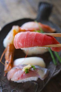 "atmeal012:  ""Sushi (寿司)  """
