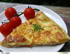 Quiche, Pizza, Food And Drink, Bread, Cheese, Cooking, Recipes, Kitchen, Brot