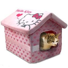 Hello Kitty Pet Bed - When I get my munchkin kitty...this is going to be (her) their bed.