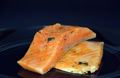 A perfectly seasoned Thai curry salmon filet portion ready to cook. Atlantic salmon fillets seasoned and marinated for the perfect Thai Curry flavor. Each box includes oz portions of Natural Atlantic Salmon. Vegetarian Recipes Easy, Thai Recipes, Salmon Recipes, Fish Recipes, Seafood Recipes, Asian Recipes, Gourmet Recipes, Cooking Recipes, Healthy Recipes