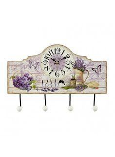 Κρεμάστρα-Ρολόι Τοίχου inart - inart - 3-20-098-0212 διακοσμηση σαλόνι κρεμάστρες τοίχου   καλόγεροι
