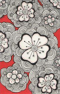 Kai-Zen Doodles: The Garden & Red Doodles
