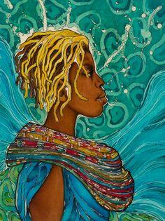 "One of my favs ByGabrielle Modern Batik + Textile Art ""SBTFly"""