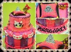 Hello Kitty Cake  facebook page: Sweets 'N Heaven by Eldgie