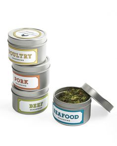 D.I.Y. Herb Blend labels. These make great hostess gifts!