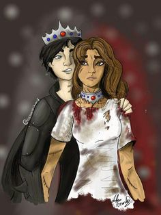 Maven and Mare in the King's Cage Red Queen Costume, Red Queen Book Series, Color Fight, Red Queen Victoria Aveyard, Glass Sword, King Cage, Art Tablet, Sketch A Day, Fan Art