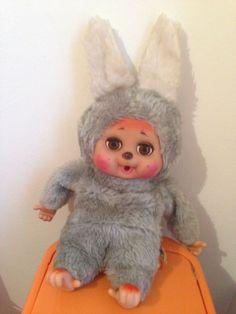 Peluche Coniglio Heunec - Moncicci Vintage Puppets, Rabbit, Friends, Ebay, Vintage, Plush, Bunny, Amigos, Rabbits