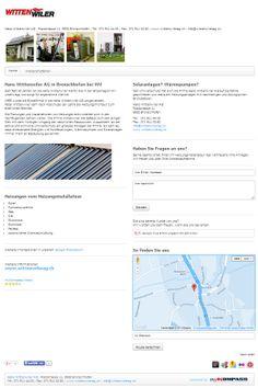 Heizungen, Bronschhofen, Wil, Heizungsinstallateur, Solaranlagen