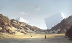 The Digital Sci-Fi Concept Art of Geoffroy Thoorens | Djahal Art