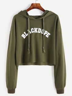 Blackdope Raw Hem Crop Sweatshirt - Zooomberg